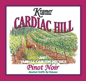 2007 Pinot Noir Cardiac Hill