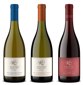2016 Estate Wine Trio