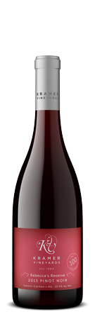 2017 Pinot Noir Rebecca's Reserve FUTURES Image