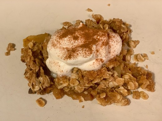 Müller-Thurgau Apple Crisp